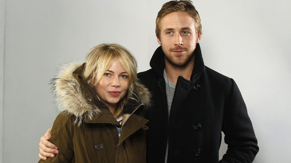 Michelle Williams And Ryan Gosling Of The Film U0027Blue Valentineu0027 Pose For A  Portrait