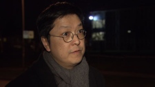Former B.C. provincial NDP candidate Gabriel Yiu said he and others in the Chinese community urged Yao Wei Wu to find legal counsel after he was mistakenly assaulted by Vancouver police officers. January 28, 2010.