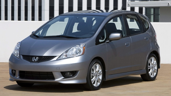 This photo released by Honda shows the 2010 Honda Fit Sport.(AP/Honda)