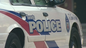 A Toronto police cruiser is pictured.