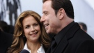 John Travolta and wife actress Kelly Preston attend the premiere of 'From Paris With Love' at the Ziegfeld Theatre on Thursday, Jan. 28, 2010 in New York. (AP / Evan Agostini)