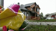 The Victoria-area home where Lindsay Buziak was found murdered is seen in a CTV file image.