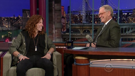 David Letterman joked about B.C.'s snow problems during an interview with Olympic gold medal snowboarder Shaun white Feb. 2, 2010.