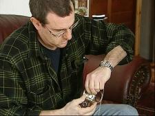 Watchmaker Darryl Lesser