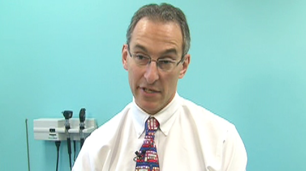 Dr. Jacob Langer, chief of general surgery at Toronto's Sick Kids Hospital, speaks with CTV in this undated photo.