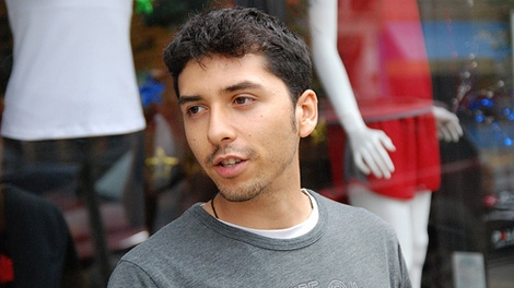 Martin Macias Jr. says he was denied access to Canada because of his connection to Olympic protest groups. Feb. 7, 2010. (YouthRadio.org)