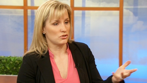 Jennifer Sygo, from The Cleveland Clinic, appears on CTV's Canada AM on Monday, Feb. 8, 2010.