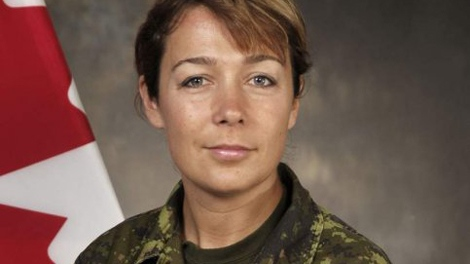 Cpl. Marie France Comeau is seen in this undated Department of National Defence photo.