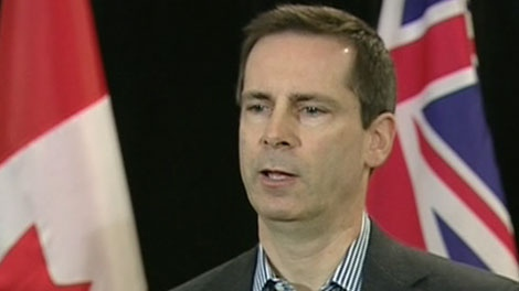 Ontario Premier Dalton McGuinty talks about his government's move to help Nortel workers, Monday, Feb 8, 2010.