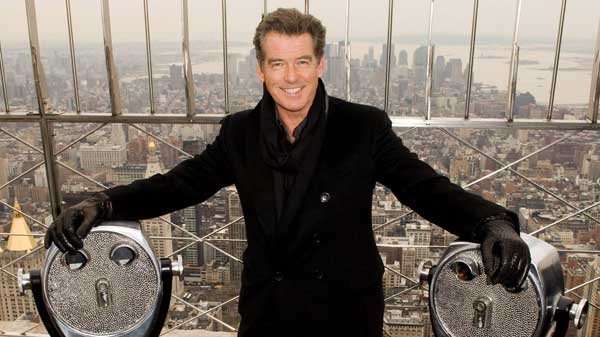 Pierce brosnan reveals the character actor within ctv news for 103rd floor empire state building