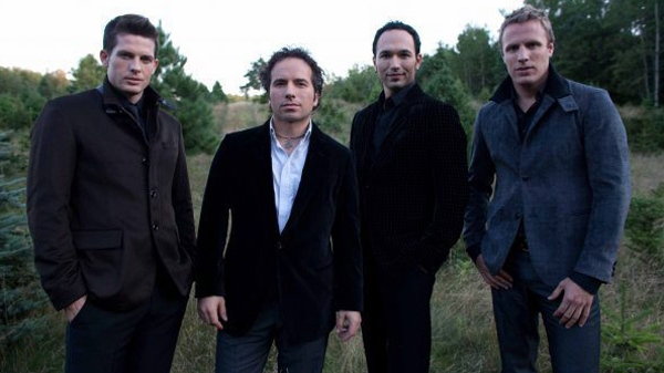 The Canadian Tenors, left to right, Clifton Murray, Remigio Pereira, Victor Micallef and Fraser Walters are seen in this undated handout photo. (THE CANADIAN PRESS / HO)