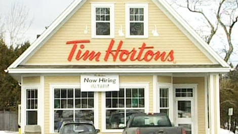 Tim Hortons' says that Jimmy Craig was banned from two local Tim Hortons' stores because he was aggressive towards staff.