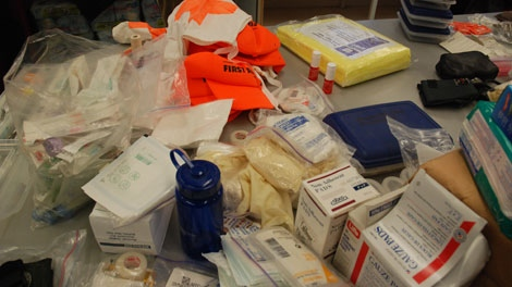 Street medics will rely on donated equipment and supplies.