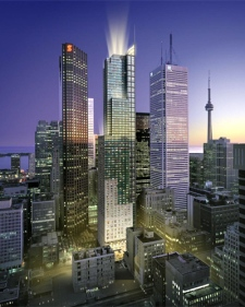 Trump International Hotel and Tower will be located in the heart of the financial district, at 311 Bay Street, on the southeast corner of Bay and Adelaide