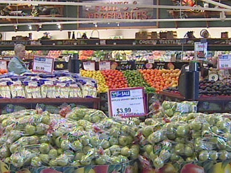 Oakridge Co-op produce section