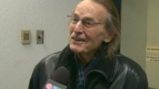 Singer Gordon Lightfoot speaks to CTV Toronto about false reports claiming he was dead, on Thursday, Feb. 18, 2010.