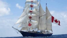 The tall ship S.V. Concordia, operated by the West Island College Class Afloat program, went down off the coast of Brazil.