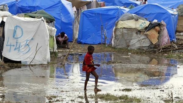 Heavy rain hits Haitis quake-ravaged capital
