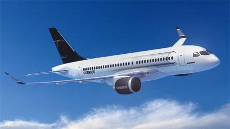 Bombardier CSeries jet