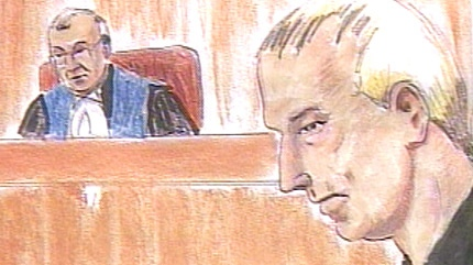 Danial Todd Gratton, 45, as he appeared in an Edmonton courtroom Thursday, Oct. 9, 2008.
