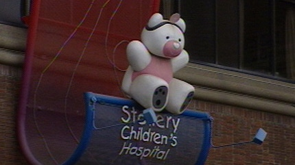 The Stollery Children's Hospital.