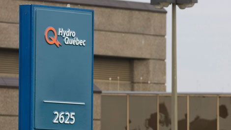 Hydro Quebec says it hopes power will be restored by tonight.