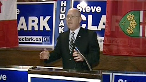 PC candidate Steve Clark wins the seat in Leeds-Grenville, a riding considered a Conservative stronghold.