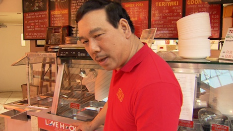 The manager at Miki�s Restaurant at Surrey�s Guildford Mall didn�t want to talk about his record -- health inspectors gave the restaurant a high hazard rating 10 times in the last 4 years.