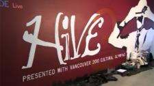 Hive 3 is a collaboration of 16 dance and drama groups performing together for the cultural Olympiad. March 8, 2010. (CTV)