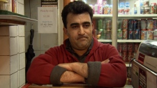 The manager of XL Pizza in the Balmoral Hotel on Hastings Street is Esmaiel Hamzaei. XL Pizza was one of the businesses in the Balmoral Hotel that were shut down four times in four years.