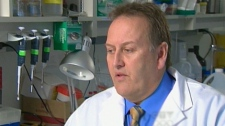 Dr. Don Morris of the Tom baker Cancer Center in Calgary discusses the findings on CTV News, Tuesday, March, 9, 2010.