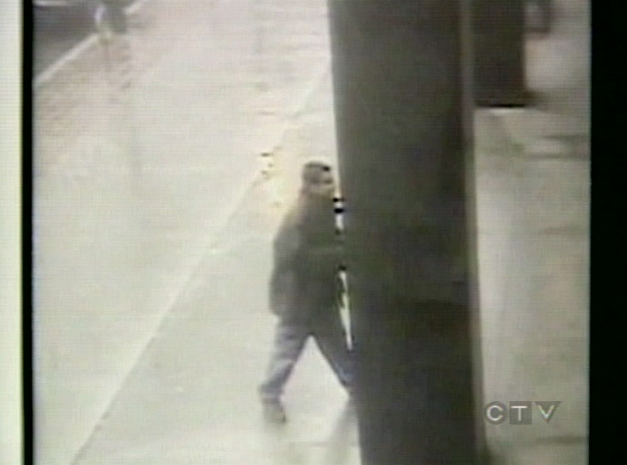Toronto police are looking for this man after random attacks in downtown Toronto on Tuesday, Oct. 23, 2007.