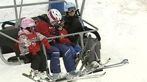helmets on ski hills