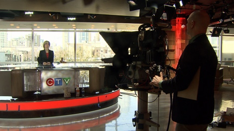 For nearly three weeks, CTV British Columbia's Vancouver newsroom has looked and sounded like a construction site, as a small army of men and women worked nearly non-stop to get the job done. Thursday, March 18, 2010 (CTV)