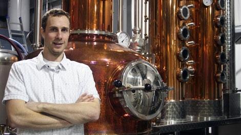 Master Distiller Tyler Schramm just won top honours for his potato vodka crafted in Pemberton, B.C.