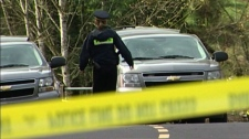 Mounties in Colwood, B.C., are investigating after a young woman was found dead on a hiking trail Friday night. March 21, 2010.