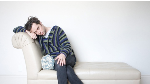 Rufus Wainwright poses for a photo in a Toronto hotel room during a promotional tour on Wednesday, March 3, 2010. (Chris Young / THE CANADIAN PRESS)