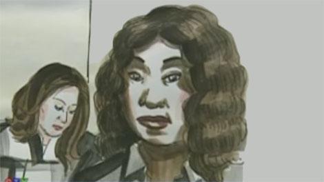 Cheryl Bailey, wife of Ducarme Joseph