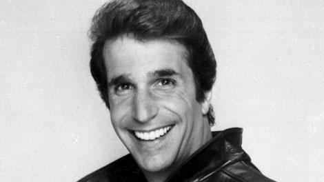 """This file photo from 1984 shows Henry Winkler as """"The Fonz"""". (AP/File)"""