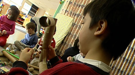 Some experts say the academic achievement gap between girls and boys begins in the early years. (CTV)