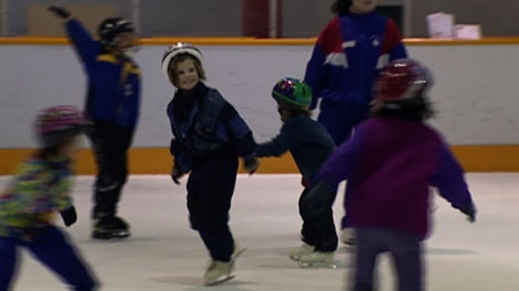 When the HST comes into effect, the cost to play minor hockey and figure skate will go up. April 1, 2010 (CTV)