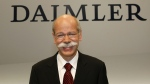 This Feb 18, 2010 file photo shows Dieter Zetsche, CEO of Daimler AG, after the company's annual press conference in Stuttgart, Germany. (AP Photo/dapd, Thomas Kienzle)