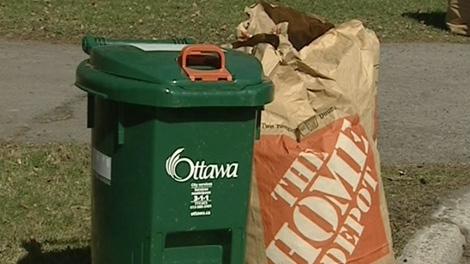 Ottawa's green bin program is moving to weekly pickup, starting this week.