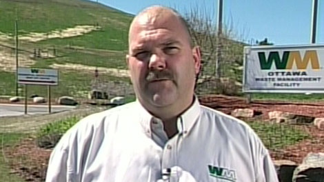 Ross Wallace, manager of Waste Management, says his company plans to build a new landfill at the Carp Road site, and invest in waste diversion.