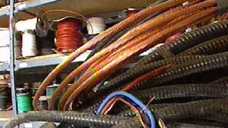 copper wire theft