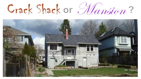 "Petr Postisil's website ""Crack Shack or Mansion?"" tests users' real estate savvy. April 15, 2010. (CrackShackorMansion.com)"