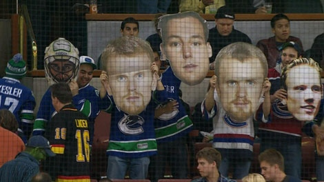 Playoff fever has hit Canucks fans. (CTV)