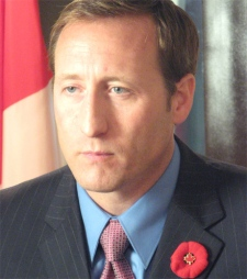 Defence Minister Peter MacKay holds a news conference in Kabul, Afghanistan, to talk about his just completed trip to Afghanistan on Nov. 7, 2007 . (CP / Bill Graveland)