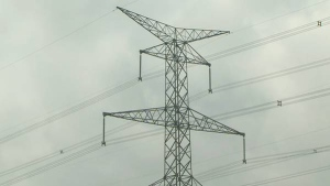 Ontario electricity transmission tower. (File Photo)
