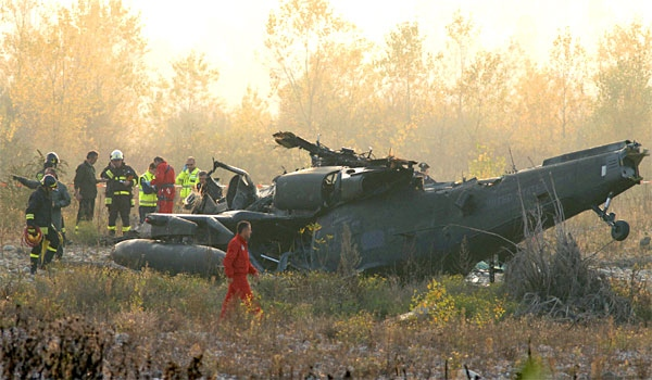 U S  military helicopter crashes in Italy   CTV News